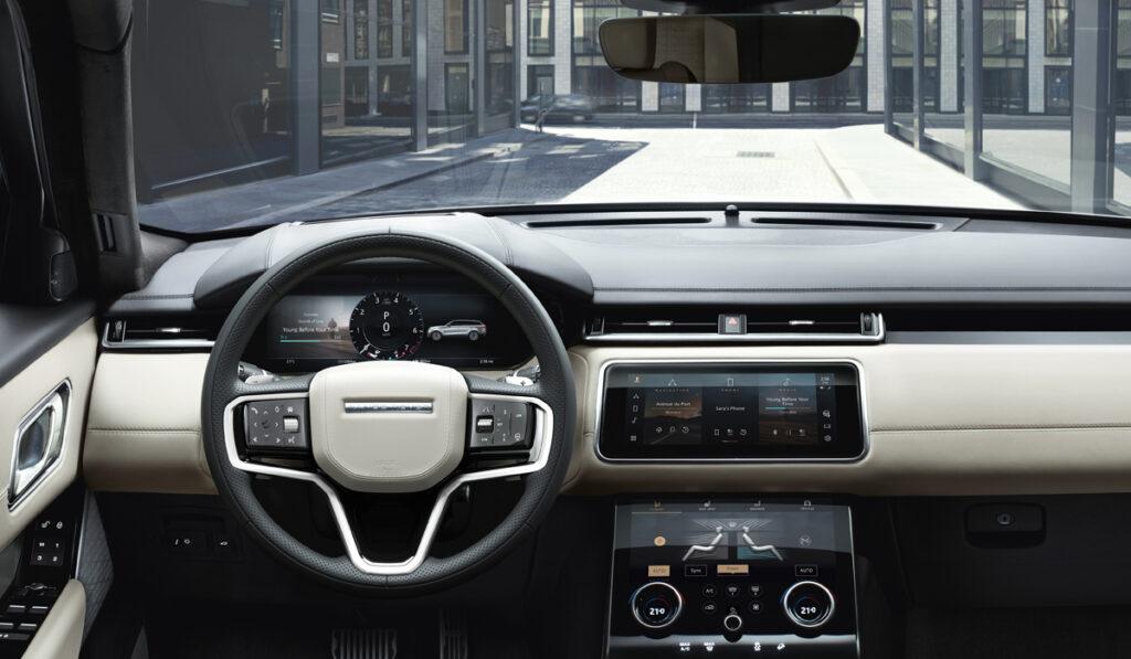 Обновленный кроссовер Range Rover Velar стал доступен для заказа в РФ