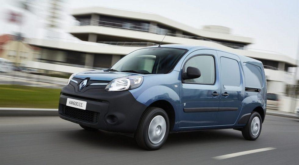 На рынок России приехал новый фургон Renault Kangoo Z.E