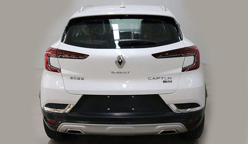Появились первые фотографии нового Renault Captur без камуфляжа