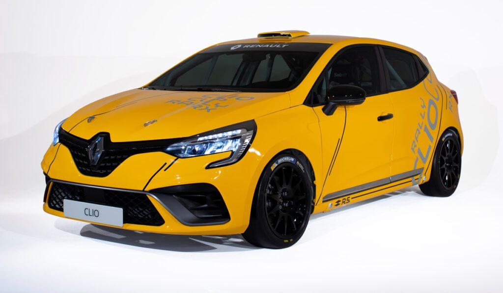 Гоночный Renault Clio представили в трёх версиях