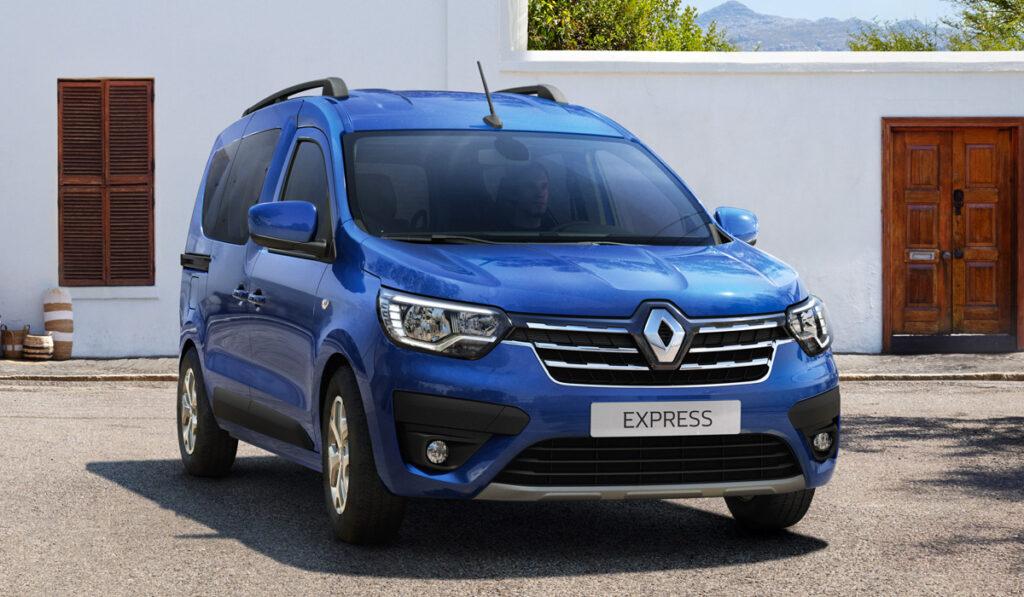 Renault представил обновленные Renault Kangoo и Express