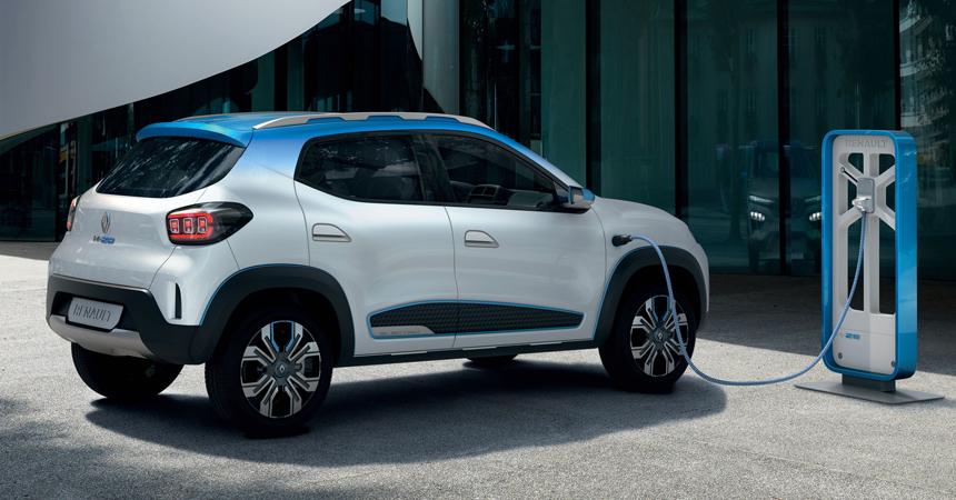 Renault представила в Париже бюджетный электромобиль Renault K-ZE