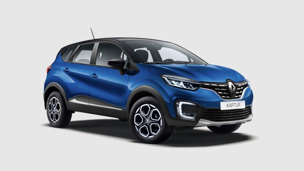 Renault начала продажи обновлённого Renault Kaptur в России