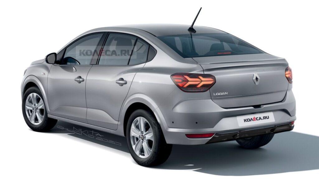 Новый Renault Logan для рынка РФ показали на первом рендере