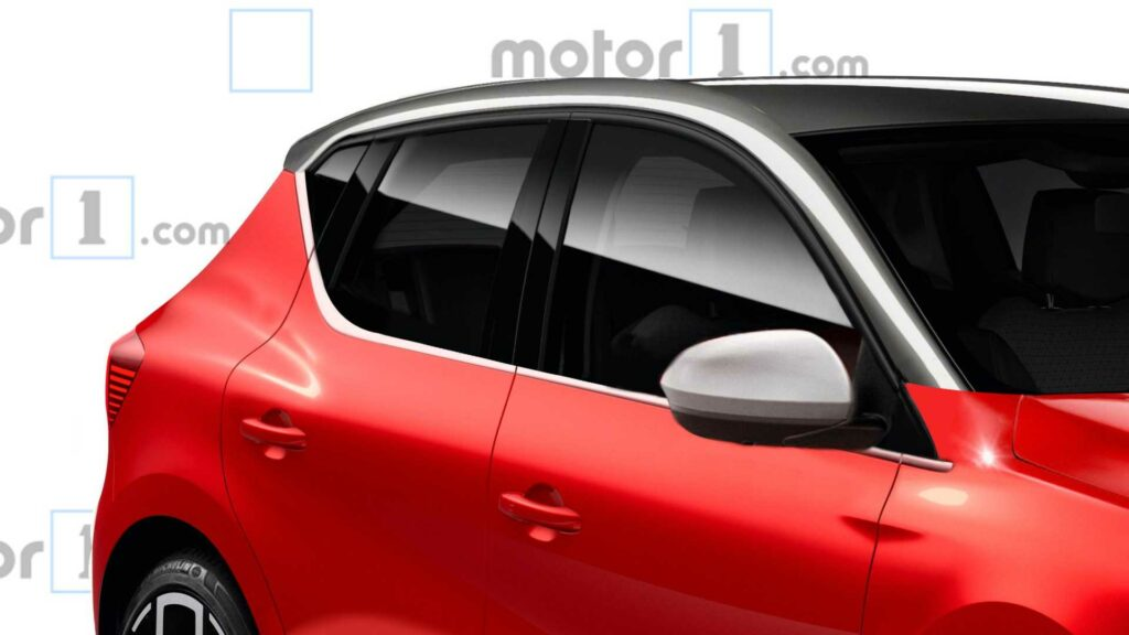 Новый Dacia Sandero показали на рендерах