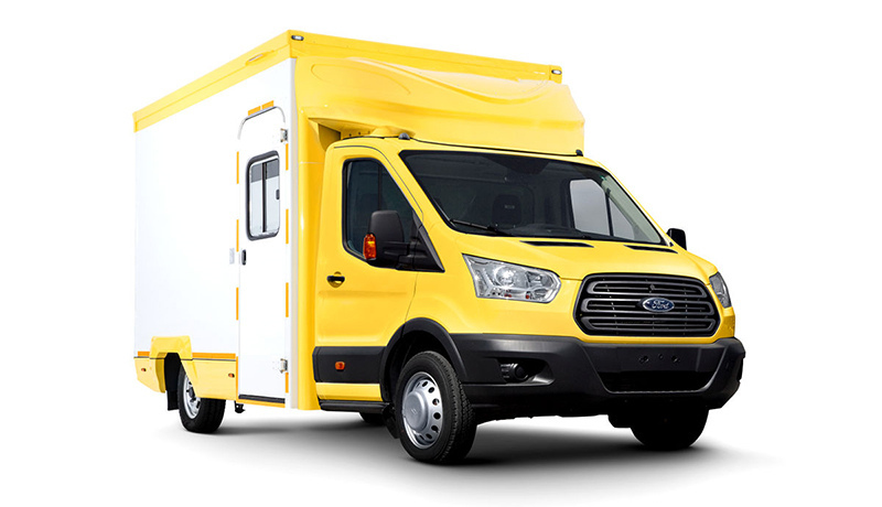 Компания Ford Sollers создала гримваген на базе Transit для съемок сериалов