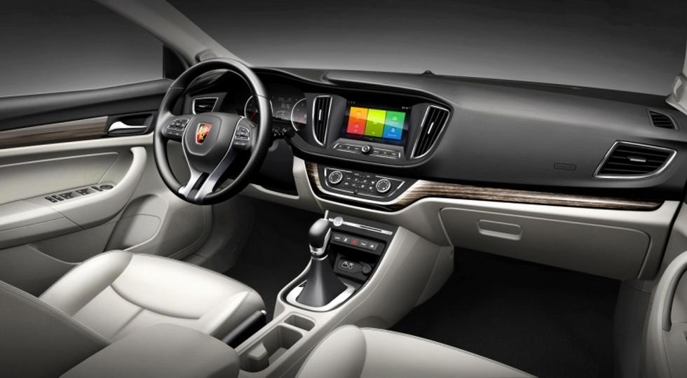 SAIC официально рассекретил обновленный седан Roewe 360