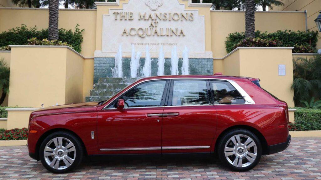 В США внедорожник Rolls-Royce Cullinan продают за 38 млн долларов