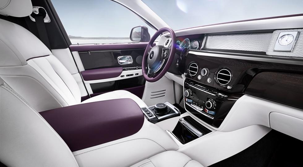 В Москве официально представлен самый новый Rolls-Royce Phantom