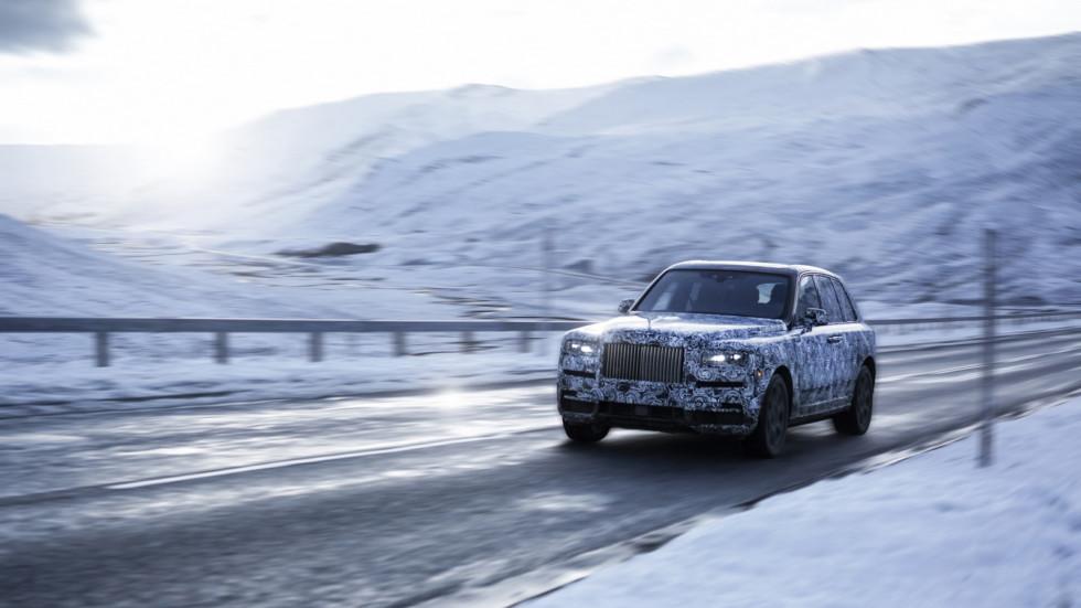 Первый внедорожник Rolls-Royce получит название Rolls-Royce Cullinan