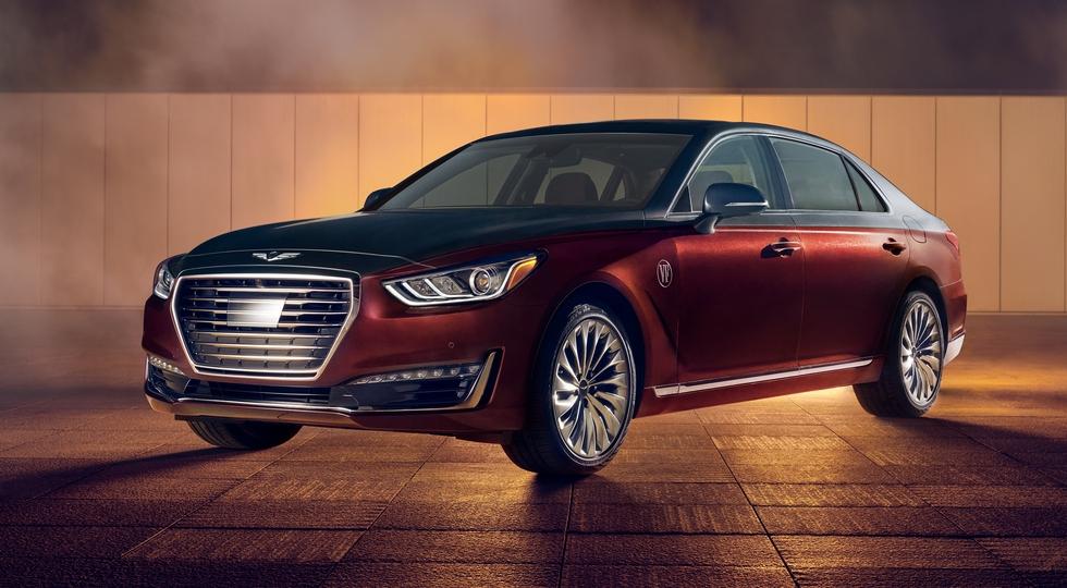 Genesis подготовил пять особых седанов G90 для красной дорожки «Оскара»