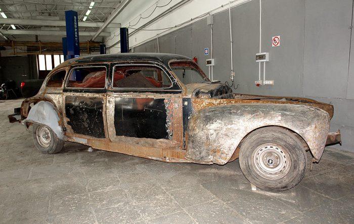 Реставрация ретро автомобилей