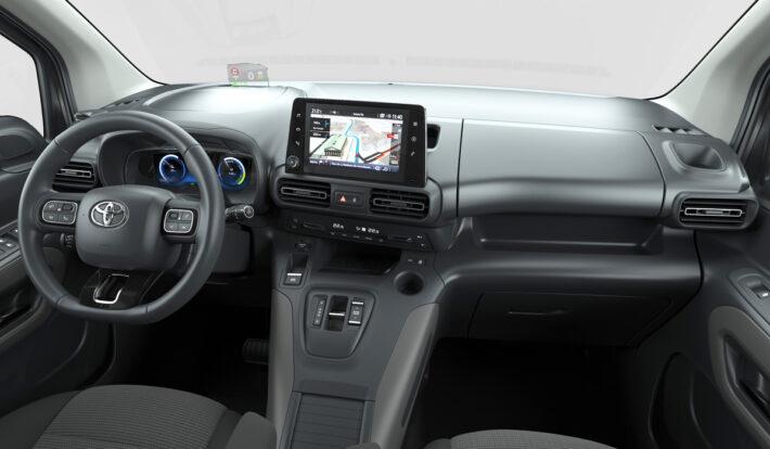 Toyota официально представила электрический фургон Toyota Proace City Electric