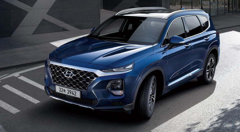 Кроссовер Hyundai Santa Fe нового поколения полностью рассекречен