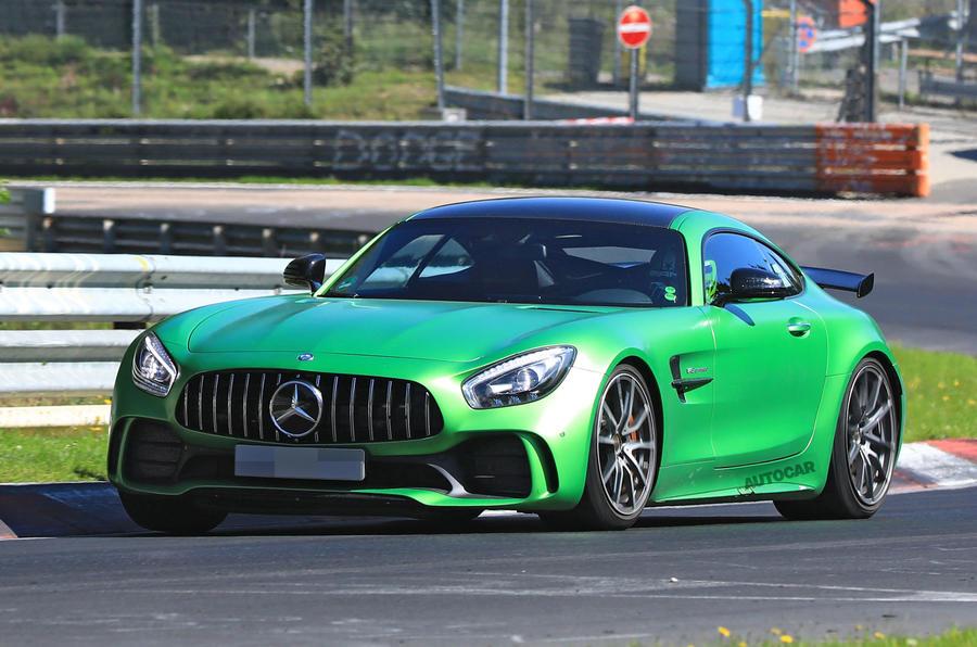 Mercedes-AMG готовит «заряженную» версию купе GT Black Series