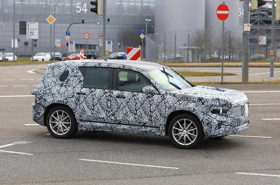 Новый кроссовер Mercedes-Benz GLB появится в продаже в конце 2019 года