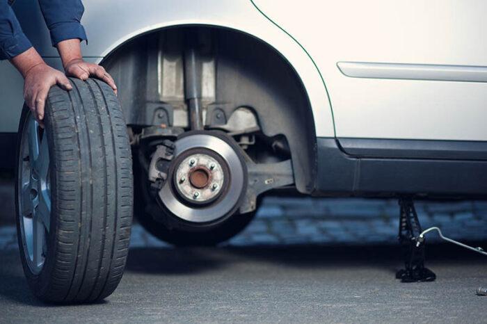 Время замены покрышек на автомобиле