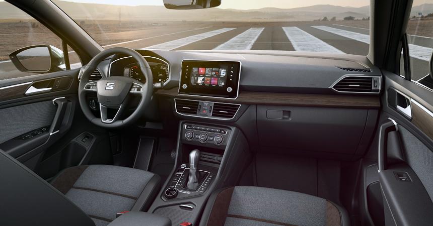 Сеат представил семиместный вседорожный автомобиль Tarraco