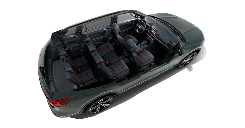 Seat представила новый флагманский кроссовер Seat Tarraco