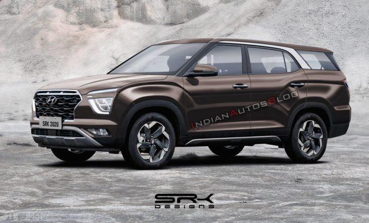 В Сети представили семиместную Hyundai Creta