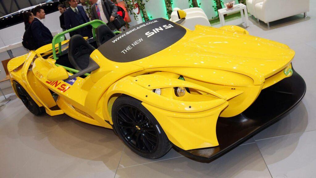 Sin Cars представила самый страшный в Женеве модульный спорткар S1