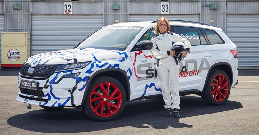 Кроссовер Skoda Kodiaq RS установил новый рекорд Нюрбургринга