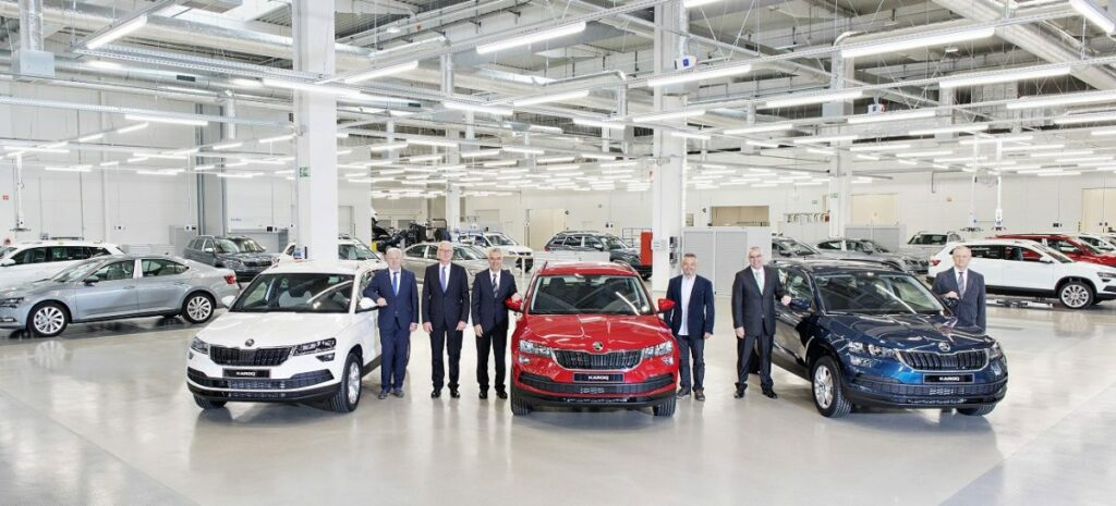 Завод Skoda Auto в Квасинах установил рекорд производительности