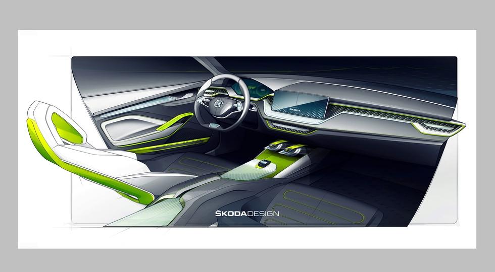 Skoda готовит к дебюту новый компакт-кросс Skoda Vision X