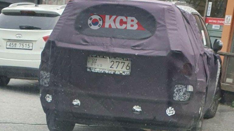 Новый Kia Sorento засняли во время тестов на дорогах Кореи