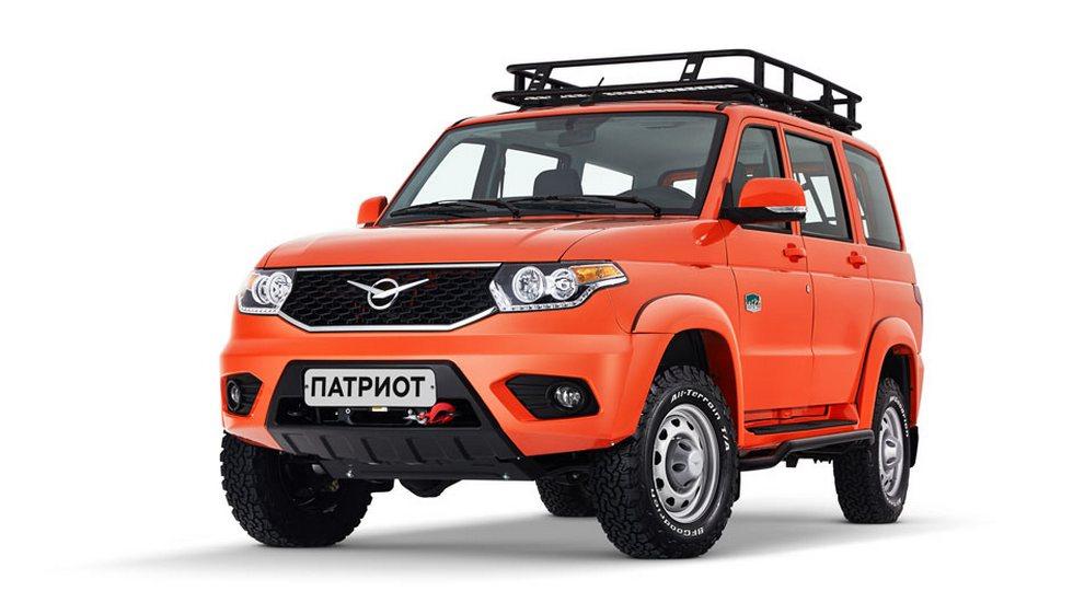 Появились новые фото «экспедиционного» внедорожника УАЗ «Патриот»