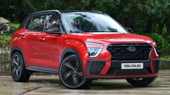 Опубликованы первые изображения спортивной Hyundai Creta новой генерации