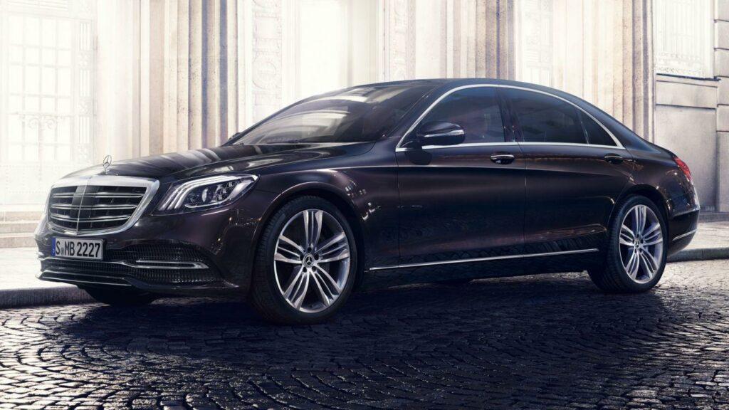 Новый Mercedes-Benz S-Class будет представлен только седаном