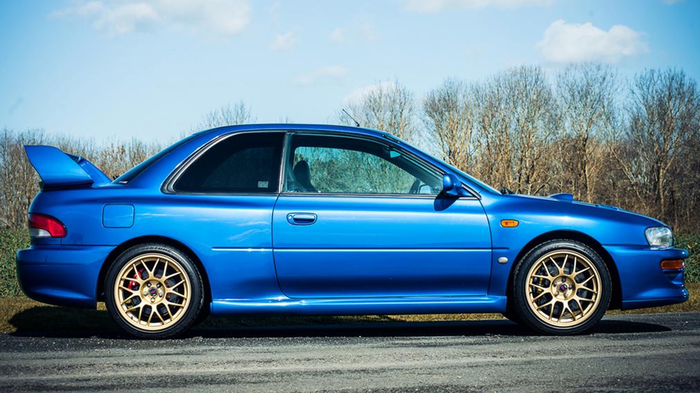 Очень редкая Subaru Impreza 22B STi появилась в продаже