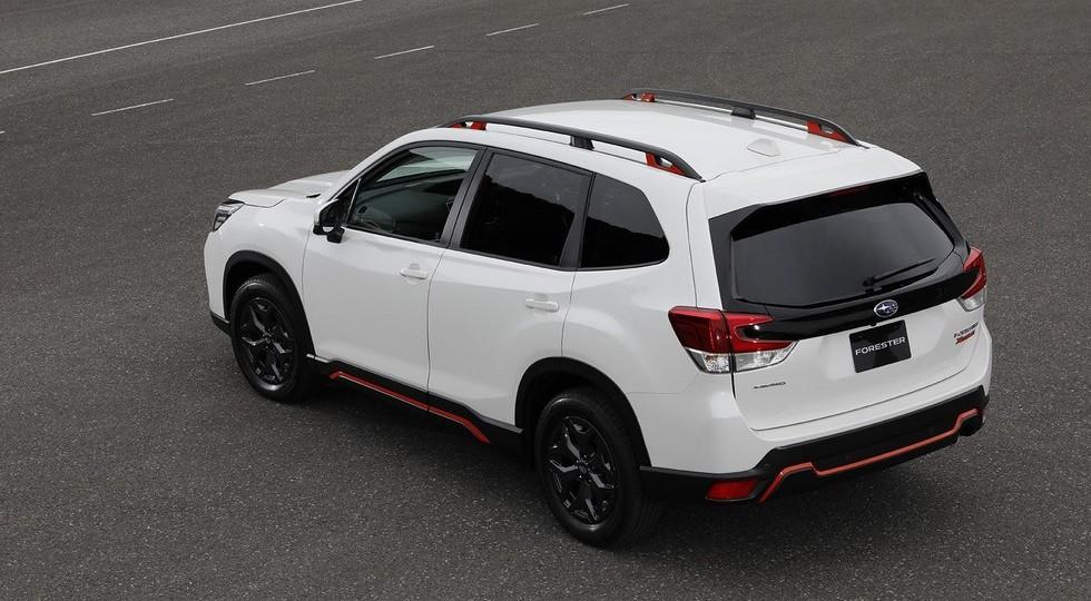 Новый кроссовер Subaru Forester получил гибридную версию