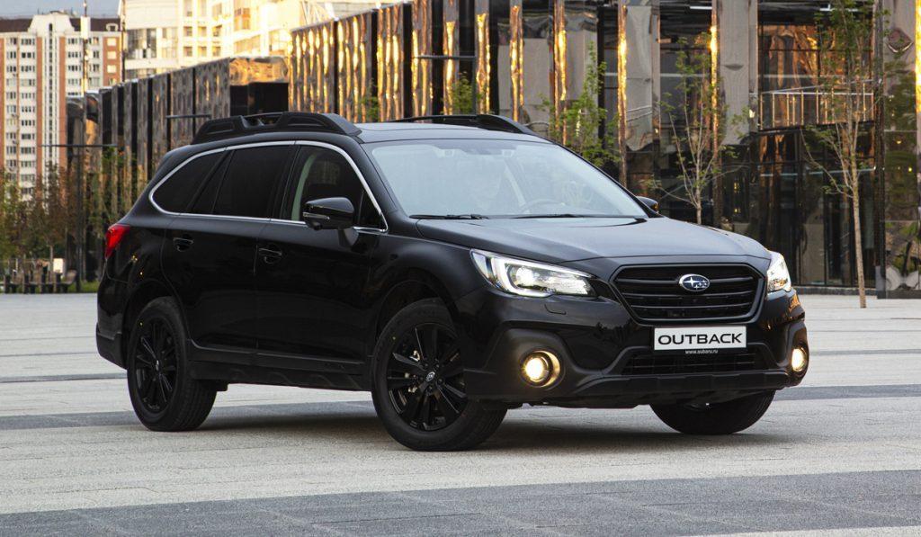 Subaru в РФ начала продавать кроссовер Outback в версии Black Line