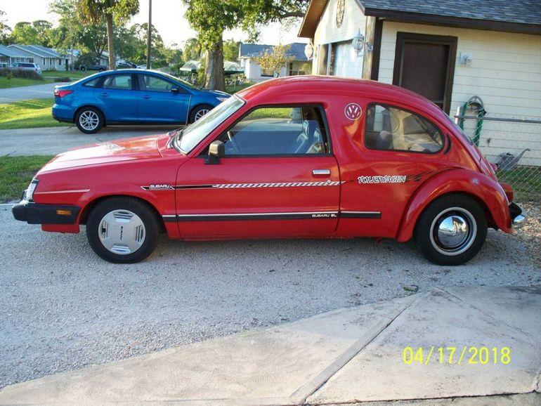 Умелец из США создал автомобиль из Volkswagen Beetle с Subaru GL