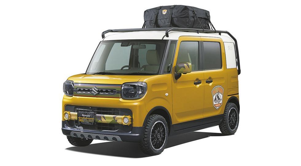 Suzuki подготовила к автосалону в Токио несколько новинок