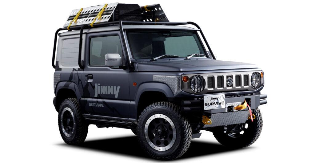Suzuki покажет две новые модификации на базе внедорожника Jimny