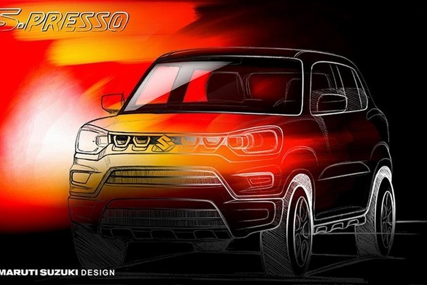 В Индии появится кроссовер Suzuki S-Presso за 300 тысяч рублей
