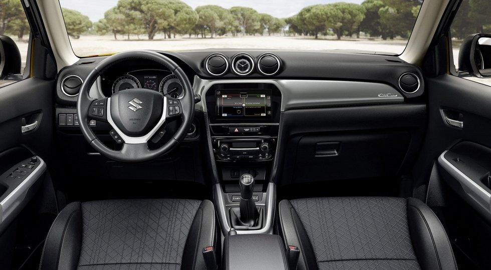 Стартовали продажи обновленного Suzuki Vitara с новым двигателем