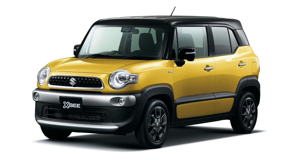 Названы цены на новый субкомпактный кроссовер Suzuki XBee