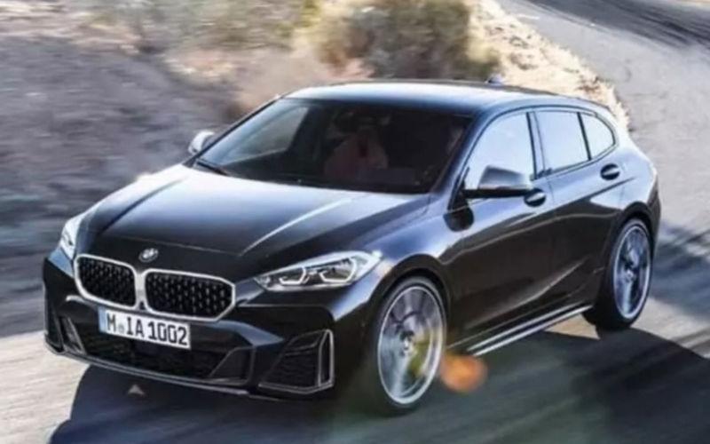 Появились первые «живые» фото переднеприводной модели BMW