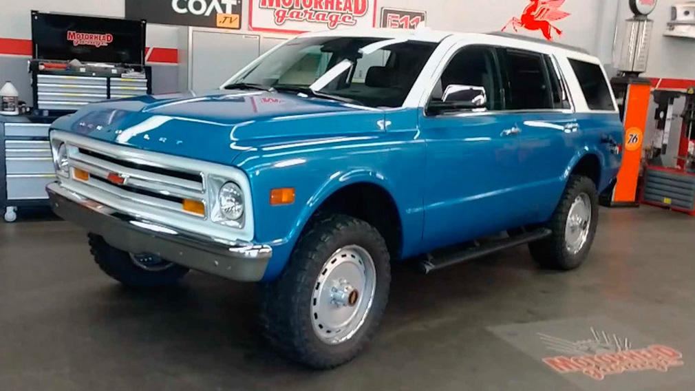 В один «смешали» два внедорожника Chevrolet из разных эпох