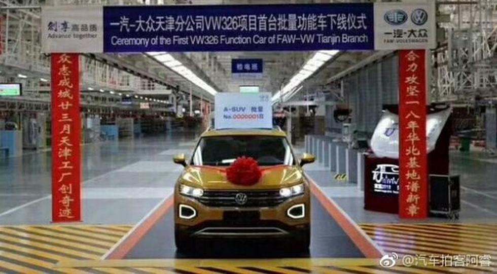 Volkswagen начал производство нового кроссовера Volkswagen Tayron