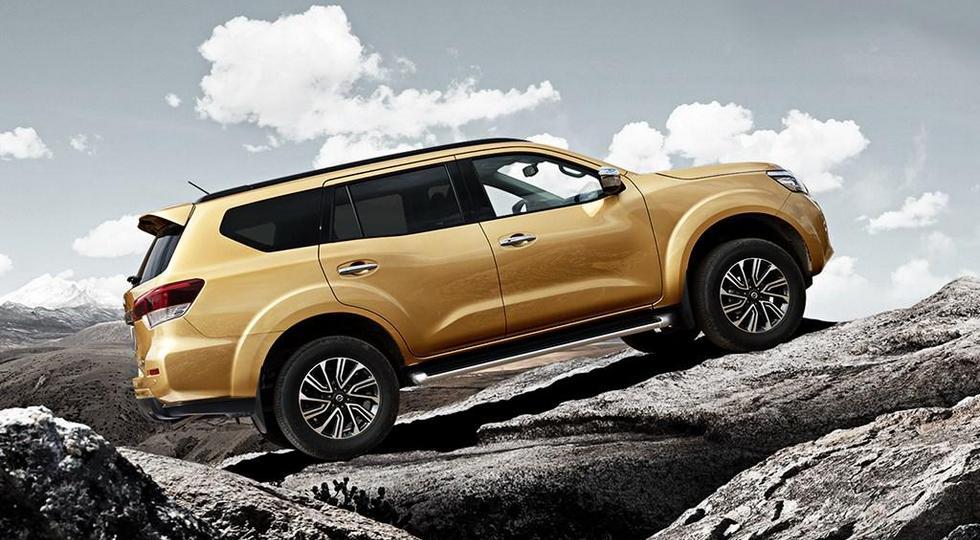 Nissan показала новый внедорожник Nissan Terra со всех сторон
