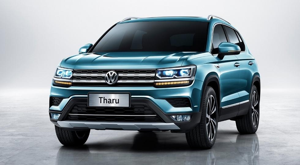 Volkswagen Tharu: в сети появились первые изображения салона