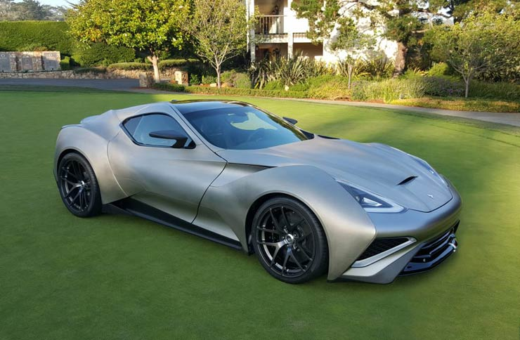 В Дубае представили самый дорогой суперкар в мире - Icona Vulcano Titanium