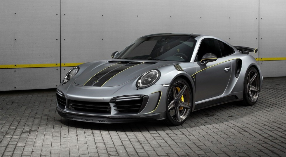 Ателье TopCar выкатило 750-сильный Porsche 911 Turbo S