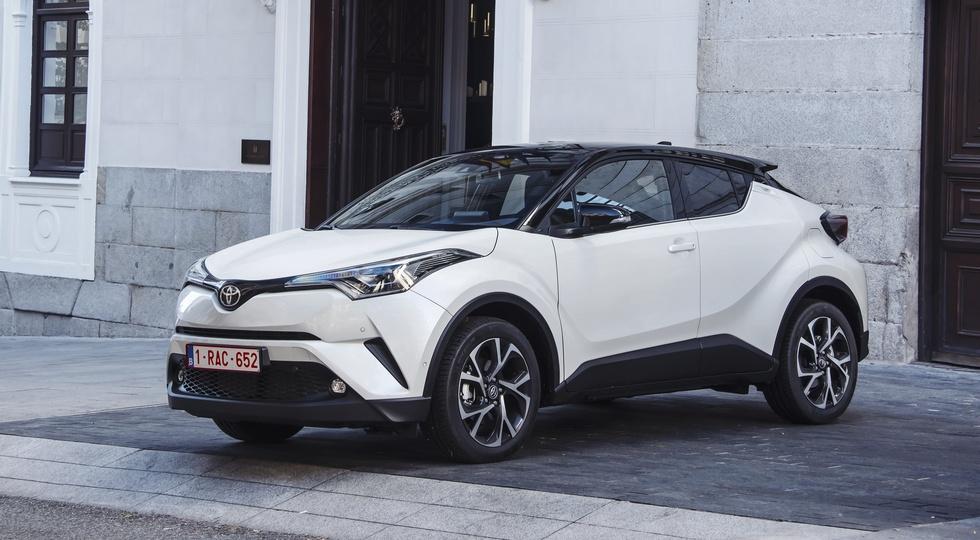 Toyota озвучила цены на новый кроссовер Toyota C-HR для РФ