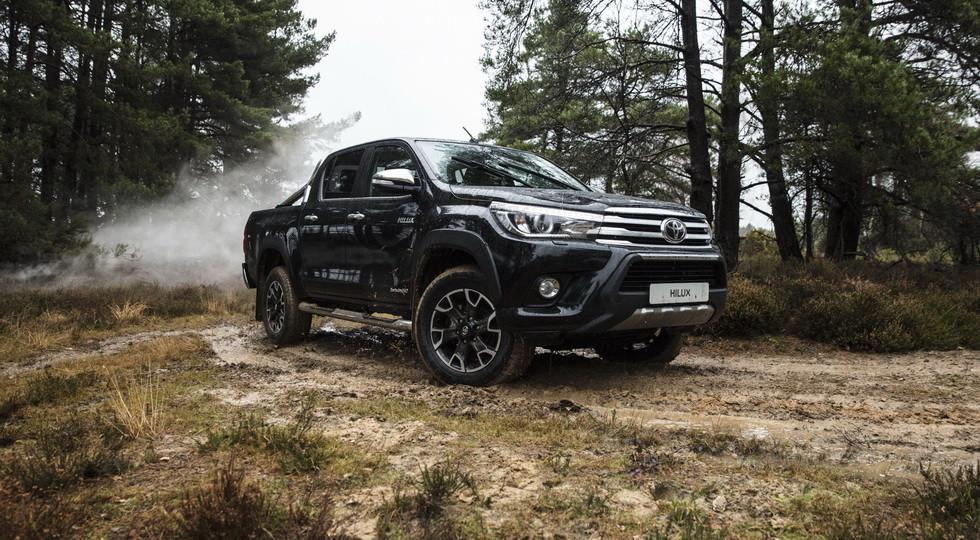 Компания Toyota выпустила юбилейную версию пикапа Toyota Hilux